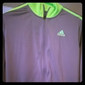 Adidas sweatsuit XL top and bottom